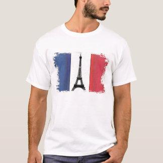 Bandeira da França Camiseta