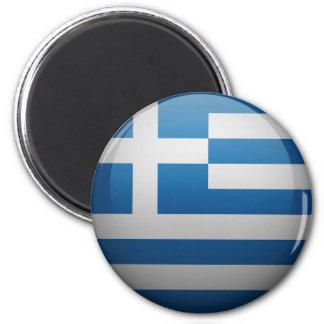 Bandeira da Grécia Ímã Redondo 5.08cm