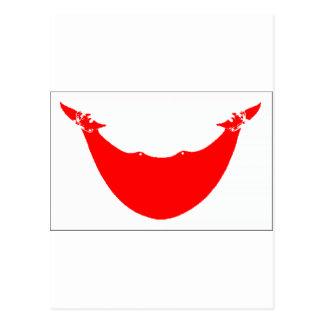 Bandeira da Ilha de Páscoa (o Chile) Cartão Postal