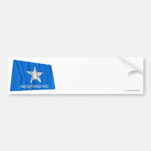 Bandeira da independência de Scott Adesivo