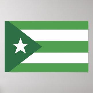 Bandeira da nação de Glassjaw Pôster