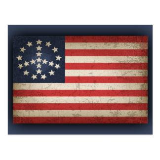 Bandeira da paz - xdist cartão postal