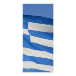 Bandeira da piscina 10.16 x 22.86cm panfleto