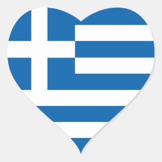 Bandeira da piscina do amor, etiqueta grega dos