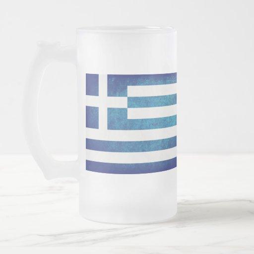 Bandeira da piscina; Grego; Caneca