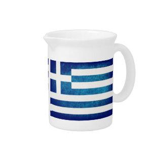 Bandeira da piscina; Grego; Jarros De Bebidas