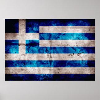 Bandeira da piscina; Grego Posteres