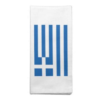 Bandeira da piscina guardanapo de pano