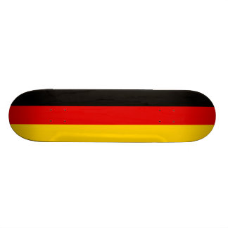 Bandeira da plataforma do skate de Alemanha