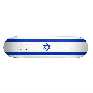 Bandeira da plataforma do skate de Israel