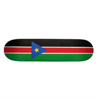 Bandeira da plataforma sul do skate de Sudão