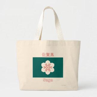 Bandeira da prefeitura de saga bolsas de lona