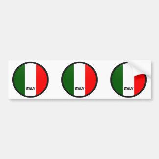 Bandeira da qualidade de Italia Roundel Adesivo Para Carro
