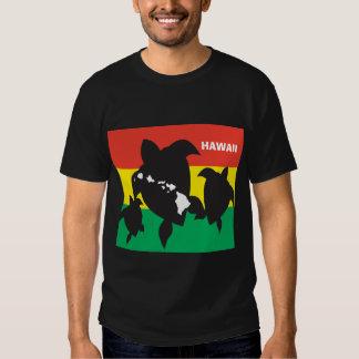 Bandeira da reggae de Havaí Camisetas