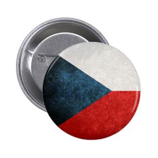 Bandeira da república checa botons