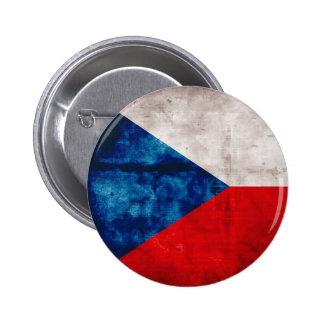 Bandeira da república checa boton