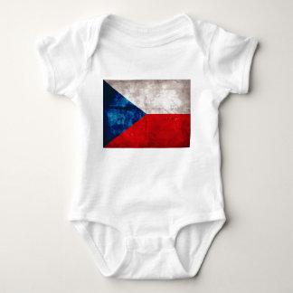 Bandeira da república checa t-shirt