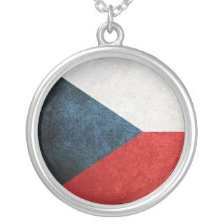 Bandeira da república checa colar