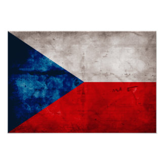Bandeira da república checa posters