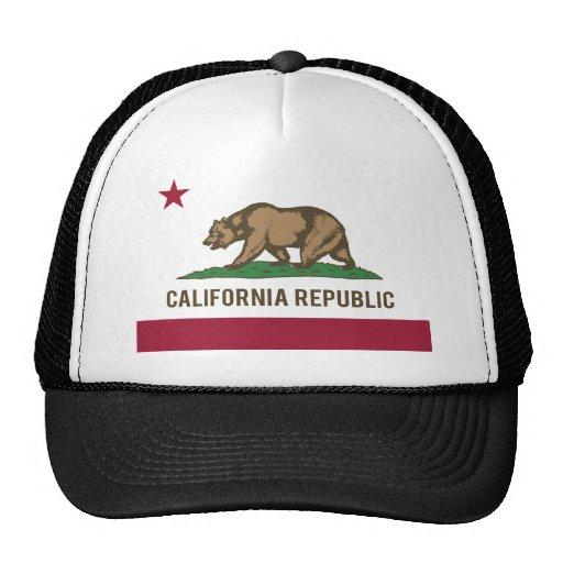 Bandeira da república de Califórnia - cor Bone