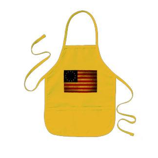 Bandeira da revolução dos EUA Avental Infantil