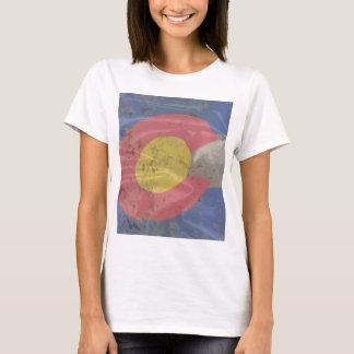 Bandeira da seda do estado de Colorado Camiseta