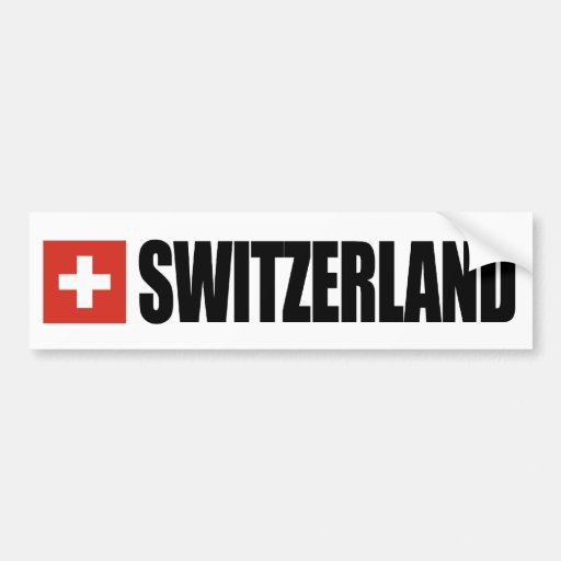 Bandeira da suiça adesivo