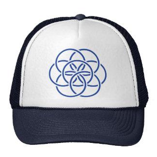 Bandeira da terra do planeta - chapéu boné