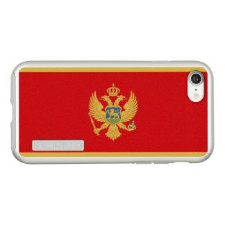 Bandeira das capas de iphone de prata de