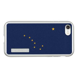 Bandeira das capas de iphone de prata de Alaska