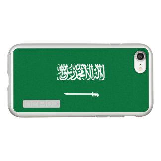 Bandeira das capas de iphone de prata de Arábia