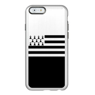 Bandeira das capas de iphone de prata de Brittany
