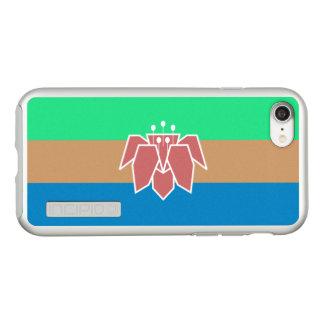 Bandeira das capas de iphone de prata de Cantonia