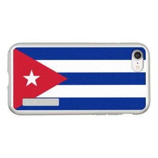 Bandeira das capas de iphone de prata de Cuba