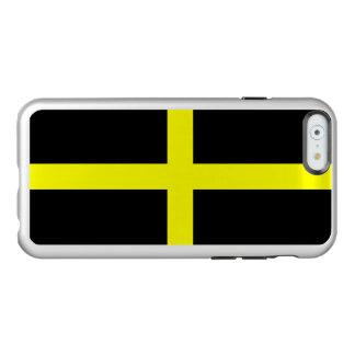 Bandeira das capas de iphone de prata de David do