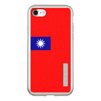 Bandeira das capas de iphone de prata de Formosa