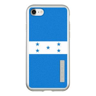 Bandeira das capas de iphone de prata de Honduras
