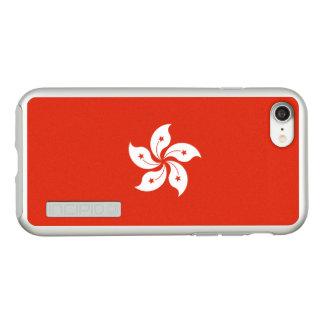 Bandeira das capas de iphone de prata de Hong Kong