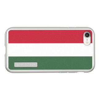 Bandeira das capas de iphone de prata de Hungria