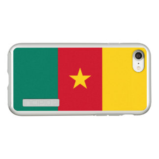Bandeira das capas de iphone de prata de República