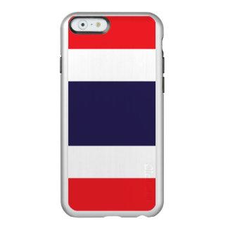 Bandeira das capas de iphone de prata de Tailândia