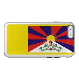 Bandeira das capas de iphone de prata de Tibet