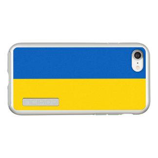 Bandeira das capas de iphone de prata de Ucrânia