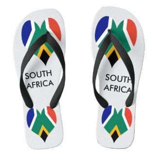 Bandeira de África do Sul Bokke Chinelos