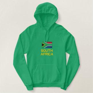 Bandeira de África do Sul bordada em jaquetas