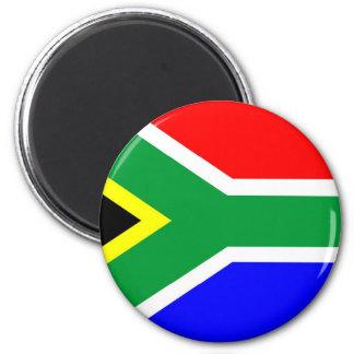 Bandeira de África do Sul Ímã Redondo 5.08cm