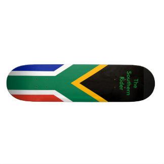 Bandeira de África do Sul o modelo dos presentes d Shape De Skate 18,4cm