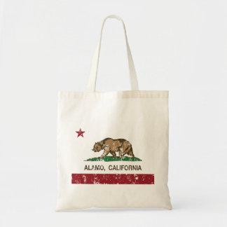 Bandeira de Alamo da república de Califórnia Bolsa Tote