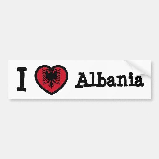 Bandeira de Albânia Adesivo