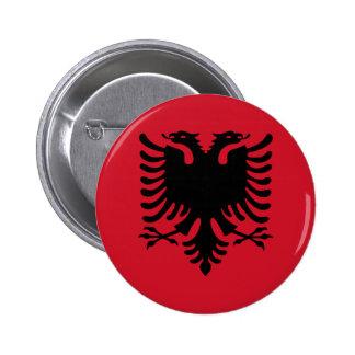 Bandeira de Albânia Botons